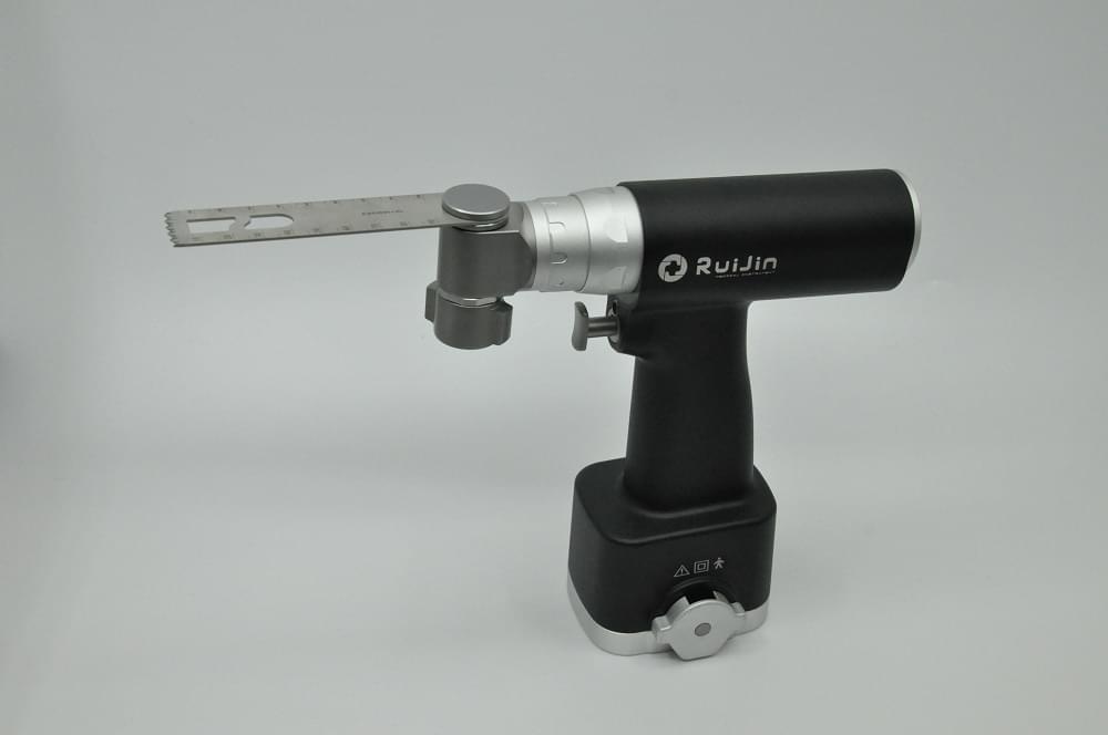 Use of swinging bone saw